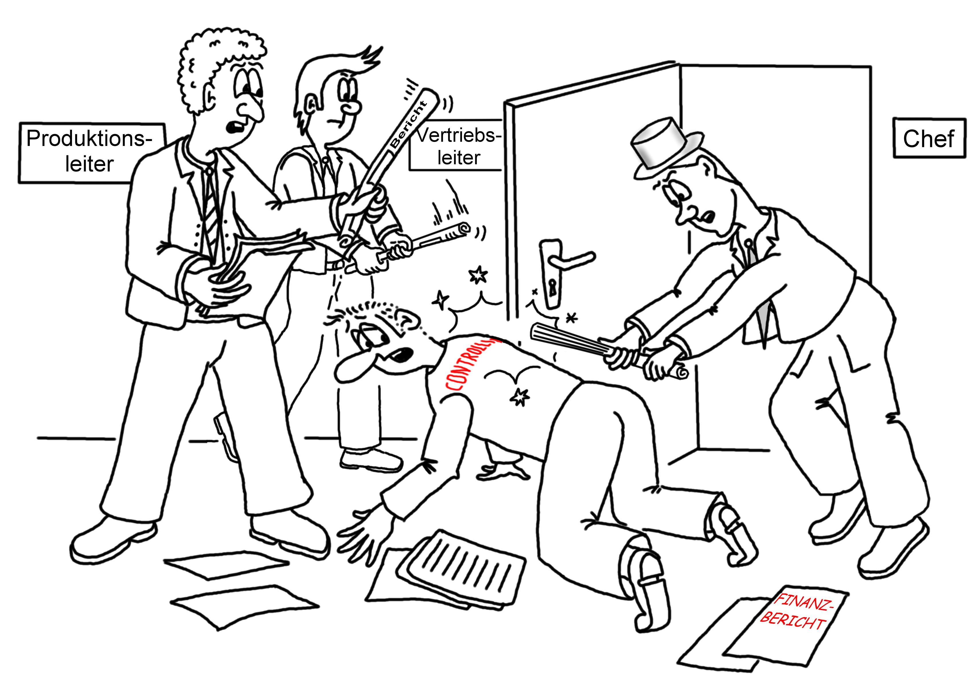Controller- Karikaturen