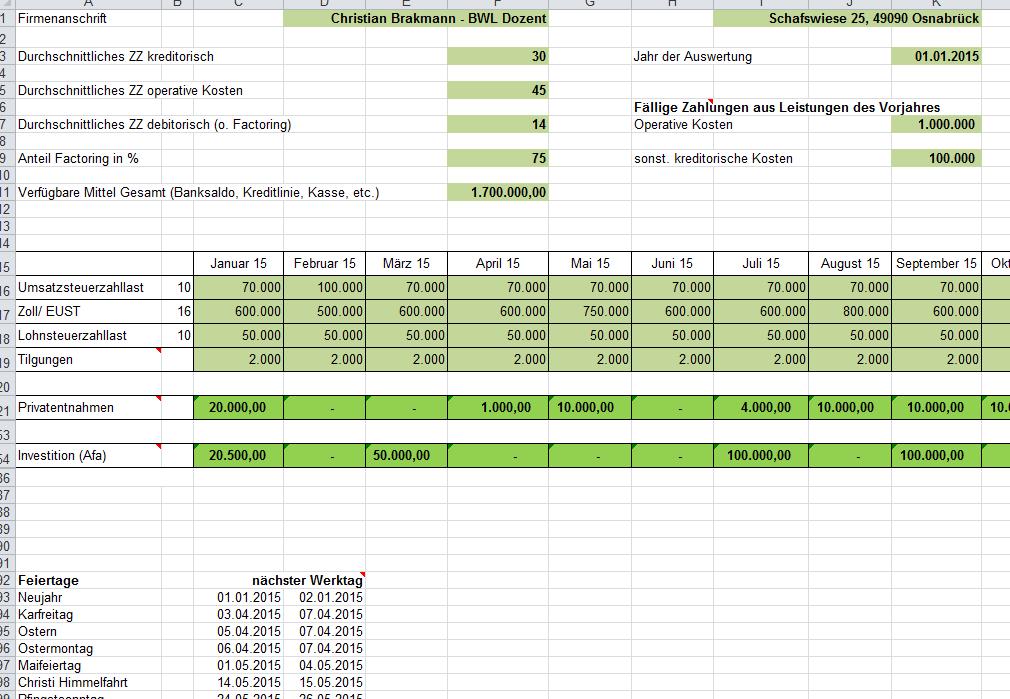 bersicht parameterpng - Liquidittsplanung Muster