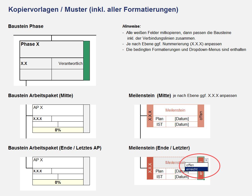 Excel Projektmanagement Paket
