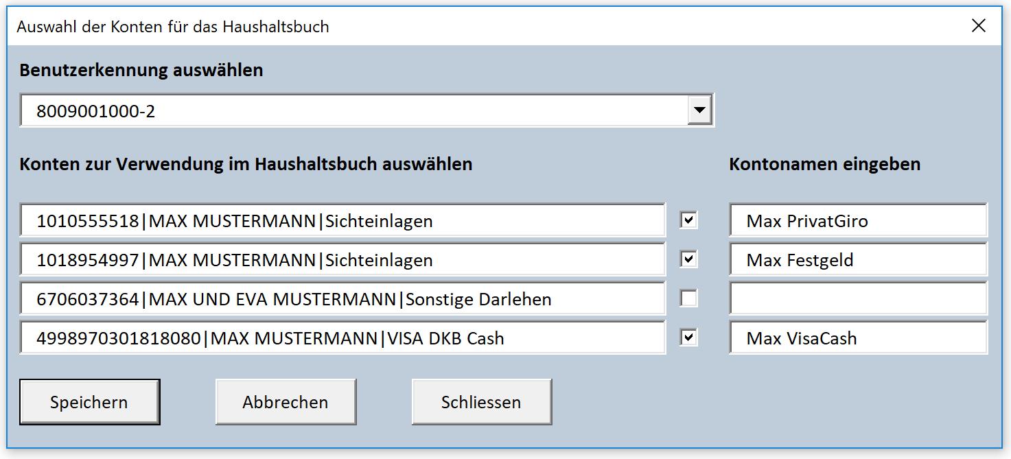 Excel Haushaltsbuch Mit Onlinebanking Zum Download