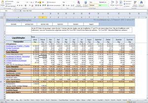 liquidittsplanung hier erhltlich - Liquidittsplanung Muster