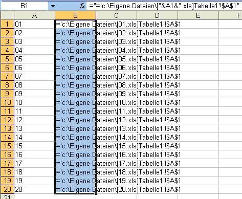 Excel-Tipp: Tabellen kopieren und externe Bezüge automatisch anpassen
