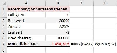 Zinssatz Berechnen Kredit : bersicht ms excel funktionen rmz ~ Themetempest.com Abrechnung